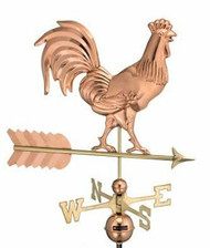 Good Directions Smithsonian 953P Rooster Weathervane - Polished Copper