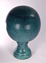 Finial - Medium Londoner-  Verdigris