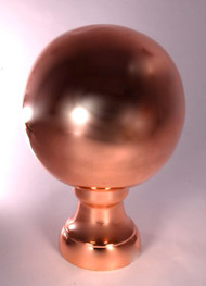 Finial - Large Londoner- Copper Polished
