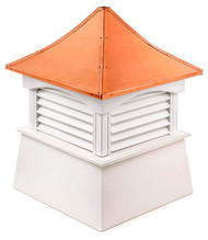 Good Directions Vinyl Coventry Cupola - 18in. square x 24in. high