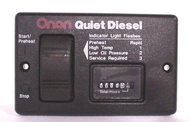 Cummins Onan 300-4943 Basic Remote Start Panel W/Hour Meter