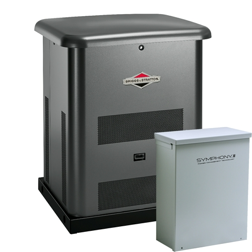 Briggs & Stratton 40533 12kW Generator with 100A SE Transfer Switch