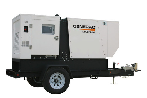 Generac MDG100DF4 71/78kW Mobile Diesel Generator with John Deere Engine