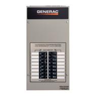 Generac RTG10EZA1 50A 1Ø-120/240V Nema 1 Automatic Transfer Switch with 10-circuit Load Center