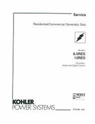 Kohler TP-6196 Diagnostic Repair Manual Download