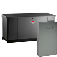 Briggs & Stratton 76107 25kW Generator with Dual 200A SE Transfer Switch