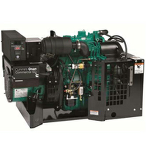 Cummins Onan Commercial Series SD7500 7.5kW Diesel Mobile Generator