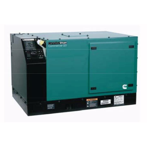Cummins Onan Commercial Series QD6000 6kW Diesel Mobile Generator (120 Volt Only)