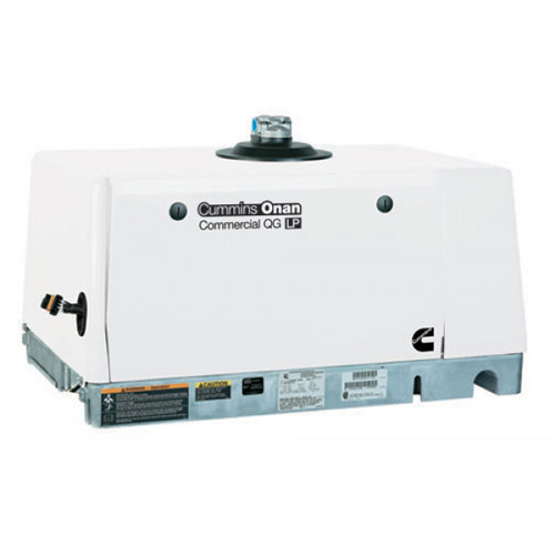 Cummins Onan Commercial Series QG7000 7kW EFI Gasoline Mobile Generator (120 Volt Only)