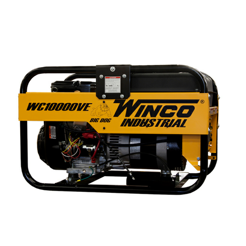 Bull Dog Power Products Metal Halide Light Tower: Winco WC10000VE 9600W Electric Start Portable Engine