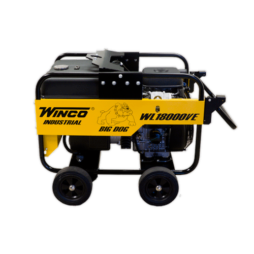 Bull Dog Power Products Metal Halide Light Tower: Winco WL18000VE 15000W Electric Start Portable Engine