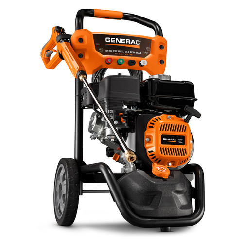 Generac 7019 3100 PSI OneWash Residential Pressure Washer with PowerDial Gun