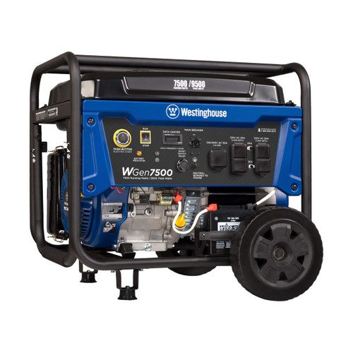 Westinghouse WGen7500 7500W Electric Start Portable Generator
