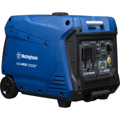 Westinghouse iGen4500 3700W Electric Start Portable Inverter Generator