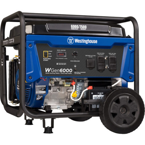 Westinghouse WGen6000 6000W Electric Start Portable Generator