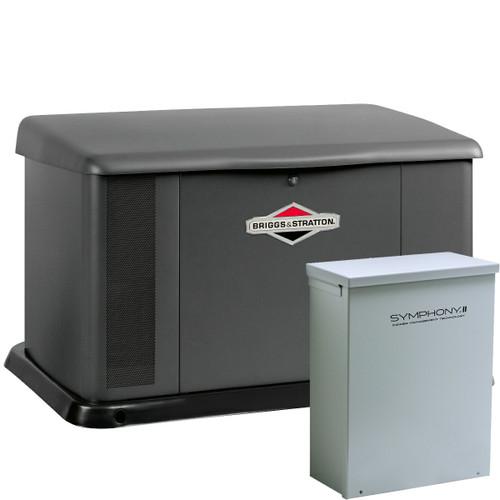 Briggs & Stratton 40394 20kW Generator with Aluminum Enclosure 100A SE Transfer Switch