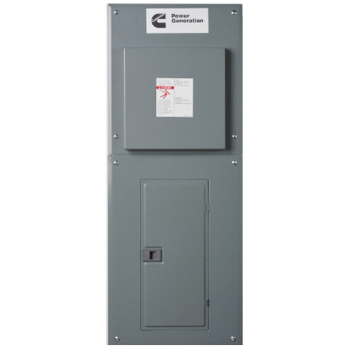 Cummins RA100INT 100A 1Ø-120/240V Nema 1 Automatic Transfer Switch with 20-circuit Load Center
