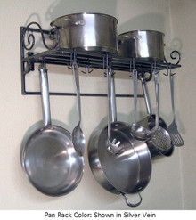 Pot & Pan Rack Southern Style Scroll