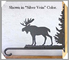 Moose Rustic Lodge Decor Plant Hanger
