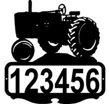 John Deere Tractor Custom Address or Name Sign