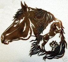 Horse Stallion Western Decor Metal Wall Art