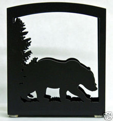 Bear Metal Art Napkin Holder