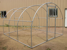 Greenhouse  Quonset Fitting Kit 12' X 12' (3 Purlin)