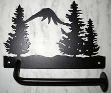 Trees/Forest Toilet Paper Holder