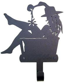 Cowgirl in Washtub