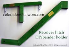 """Truck Receiver Hitch """"DIY BENDER"""" Holder"""