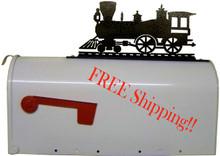 Train Mailbox Topper