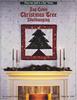 Log Cabin Christmas Tree Wallhanging