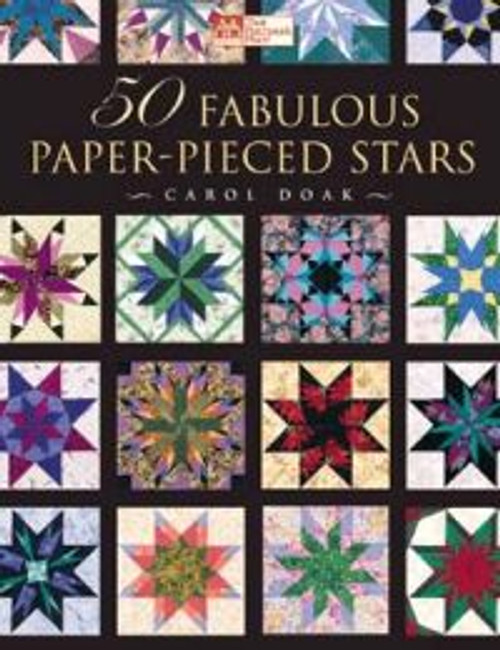 50 FABULOUS PAPER-PIECED STARS