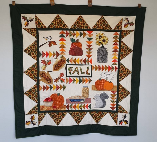 A Fall Quilt from a book by the same name
