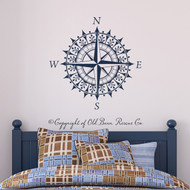 Compass - wall decal