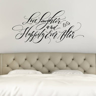 Love, Laughter and Happily Ever After |  Romantic Wall Decals