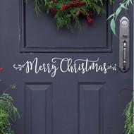 Merry Christmas | Christmas Wall Decal | Modern Calligraphy