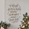 Christmas Wall Decal - O holy night