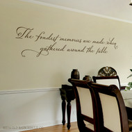 The fondest memories - wall decal