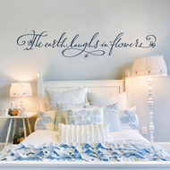 Flower Quote Wall Decal