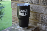 30oz Matte Black TGW Tumbler - Limited Edition