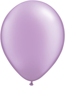"11"" Qualatex Pearl Lavender Latex Balloons 100ct #43778"