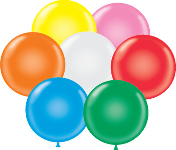 "11"" Assorted Standard Colors Latex Balloons"