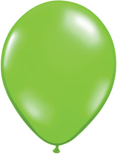 lime green 16 inch balloons