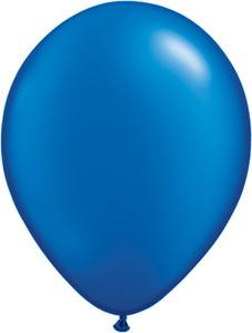 "16"" Qualatex  Pearl Sapphire Blue 50ct #87174"