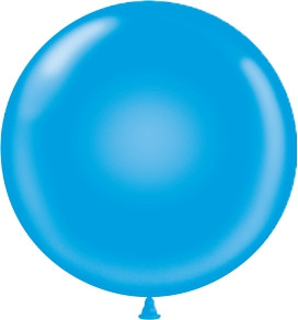 "17"" Royal Blue Latex Balloons 72ct"