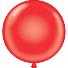 "17"" Tuf-Tex Red Latex Balloons 72ct"