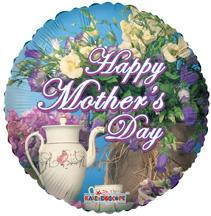 "18"" Mother's Day Tea Time 1ct #84130"