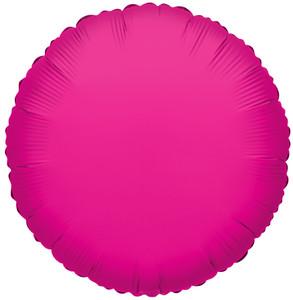 hot pink foil balloons