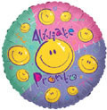 "18"" Alivate Pronto Spanish Get Well Balloon"